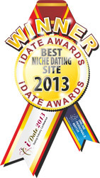 iDate 2013 Award Best Niche Dating Site