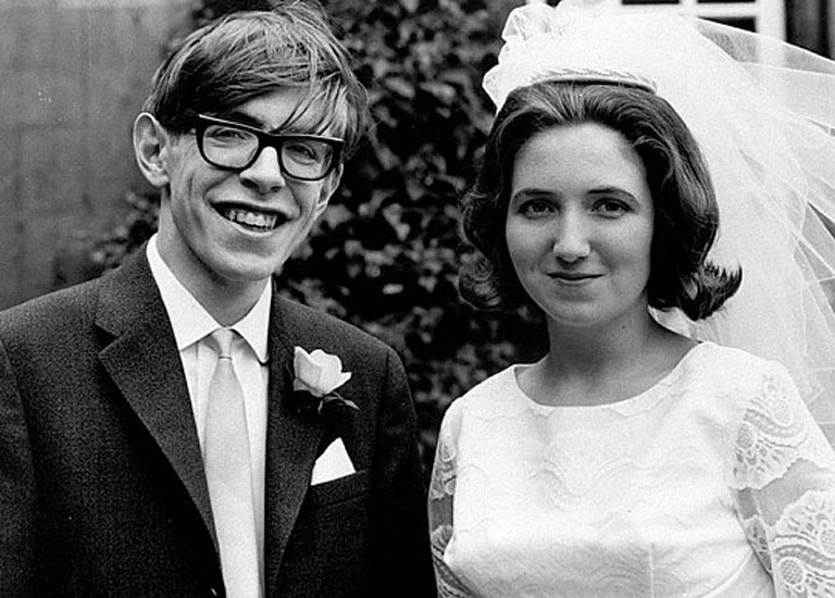 Stephen and Jane Hawking Wedding