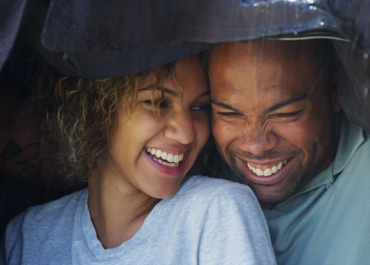 Christian dating couple taking advice from 1 Corinthians