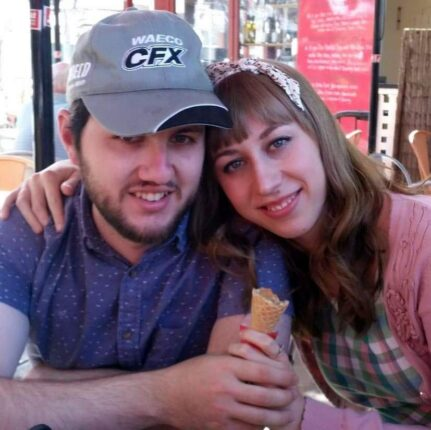 Callam and Rachel met on Christian Connection online dating